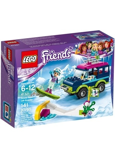 Lego Lego Friends 41321 Kayak Tesisi Jişi Renkli